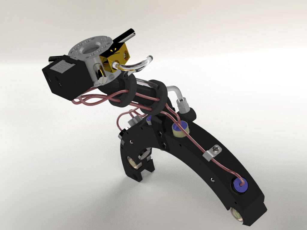 Модуль УЗ датчиков для НК контроля КП грузовых вагонов. разработка электроники. Разработка оборудования. Проектирование электронных устройств.