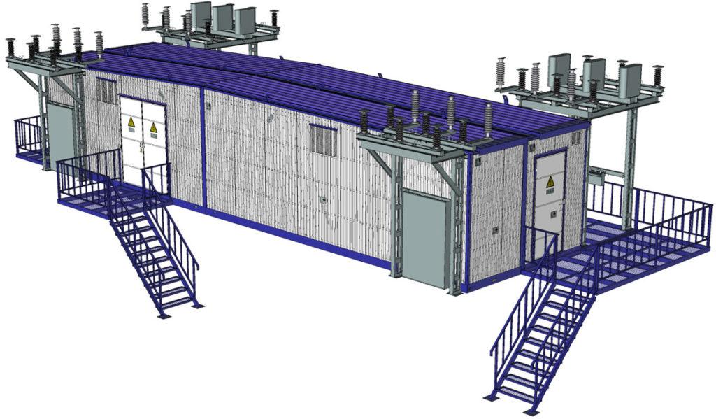 Контейнерная установка РУ. проектирование контейнеров. Разработка контейнеров. Проектирование оборудования. Разработка нестандартного оборудования. Разработка КД