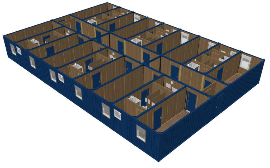 Модульное здание. Проектирование модульных зданий и сооружений. Проектирование металлоконструкций. Разработка КМ и КМД.