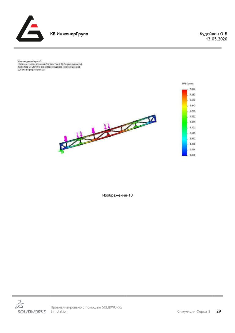 Расчет на прочность строительных конструкций