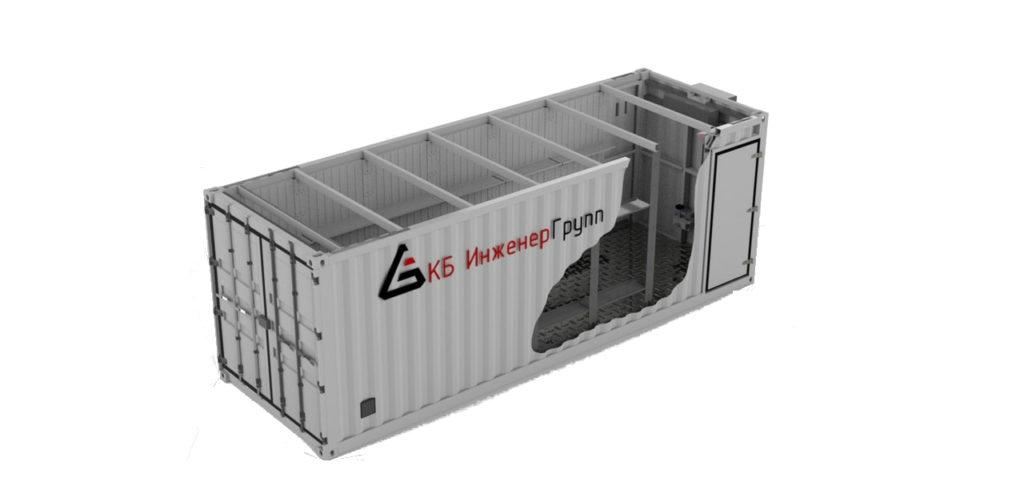 Разработка контейнеров и проектирование конрейнерных установок от КБ инженерГрупп