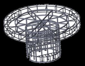 проектирование павильонов из металлоконструкций, металлоконструкции для торговых центров проектирование и разработка, проект магазина из металлоконструкций для торгового центра на заказ под ключ от КБ ИнженерГрупп