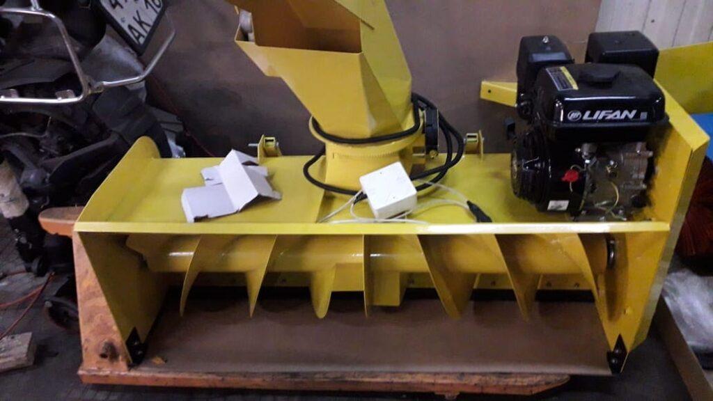 снегоотбрасыватель для автомобиля проектирование и разработка деталей