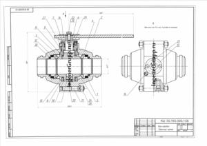 изготовление чертежей на заказ от кб инженергрупп выполнение чертежей детали шарового крана