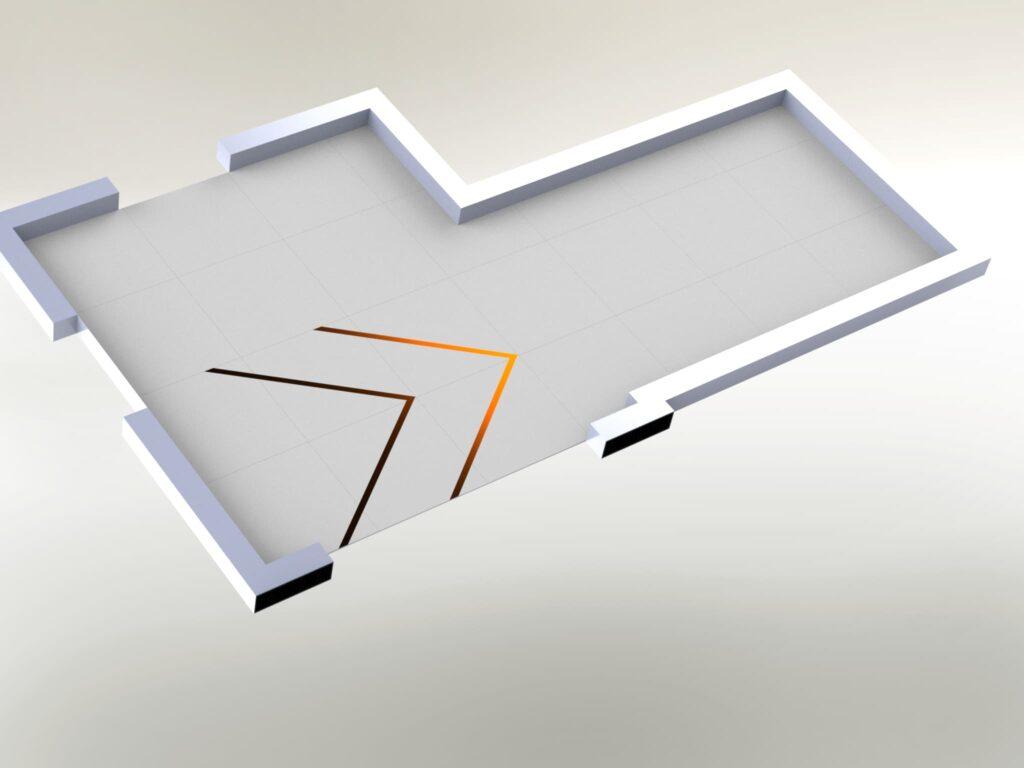 проект 3d модели для раскладки плитки,
