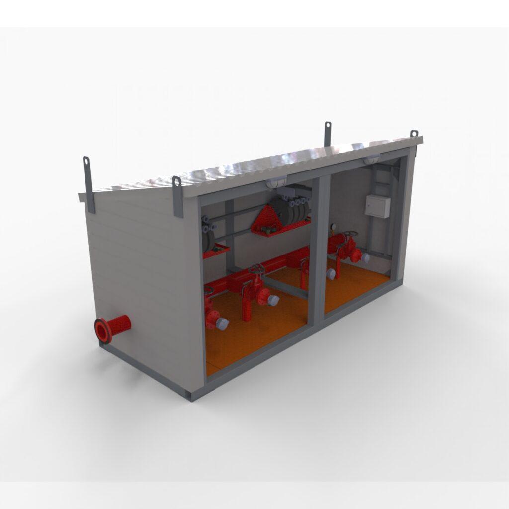 проектирование блока пожарных гидрантов от КБ инженергрупп